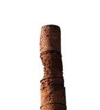 老砖烟囱 免版税库存图片