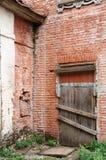 老砖瓦房 库存照片