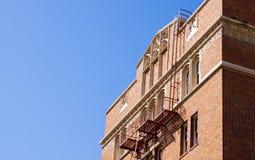 老砖瓦房 免版税库存照片