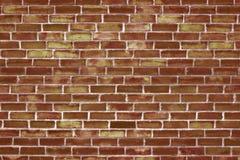 老砖砌,红色块背景墙壁  免版税图库摄影
