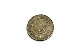 老硬币金属 免版税库存照片