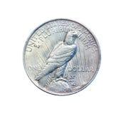 老硬币 免版税库存照片