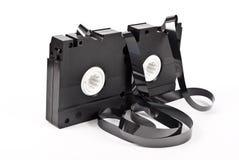 老磁带录象机 免版税库存照片