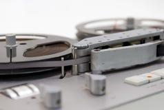 老磁带录音机 库存照片