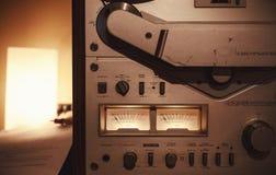 老磁带机 免版税库存图片