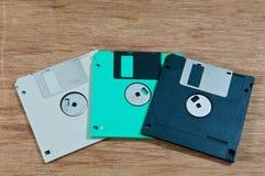 老磁盘 免版税库存照片