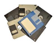 老磁盘 免版税图库摄影