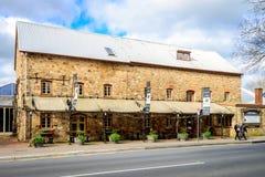 老磨房旅馆在Hahndorf 免版税库存图片