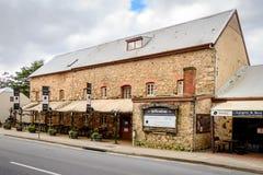 老磨房旅馆在Hahndorf 免版税库存照片