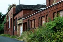 老磨房的工业朽烂 库存图片