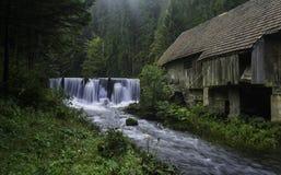 老磨房,克罗地亚 免版税图库摄影