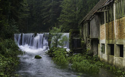 老磨房,戈尔斯基科塔尔,克罗地亚 免版税图库摄影