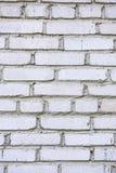 老空白砖墙 免版税库存图片