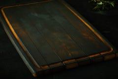 老空的木切板 免版税图库摄影