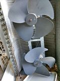 老空调器 免版税图库摄影