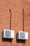 老空调装置 免版税库存照片