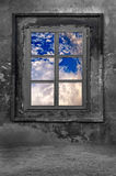 老窗口 免版税库存照片