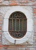老窗口在威尼斯 库存照片