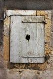 老窗口在法国 免版税库存图片