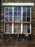 老窗玻璃 库存图片
