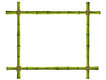 老竹棍子木制框架。 皇族释放例证