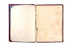 老笔记本 免版税库存图片
