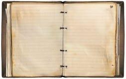 老笔记本 免版税图库摄影