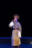 """老管家这紫色簪子--江西linchuan† opera""""four梦想  免版税图库摄影"""