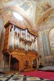 老管风琴 免版税库存图片