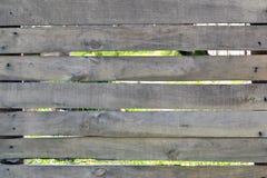 老篱芭背景木板条 图库摄影