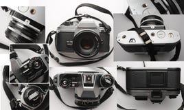 老类似物35mm影片照相机 库存照片
