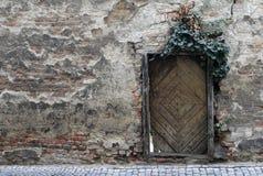 老粉碎的墙壁 免版税库存照片