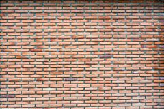 老红砖墙壁纹理和背景 免版税库存照片