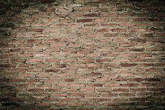 老红砖墙壁纹理 库存照片