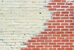 老红砖墙壁2 免版税库存照片