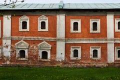 老红砖房子 库存照片