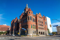 老红色博物馆(前法院大楼) 免版税库存照片