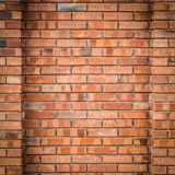 老红色墙壁 免版税库存图片