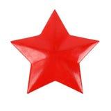 老红色星形 库存图片