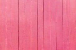 老红色木墙壁背景 免版税库存图片