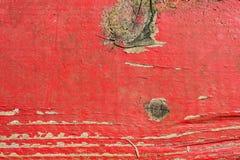 老红色板条 库存图片
