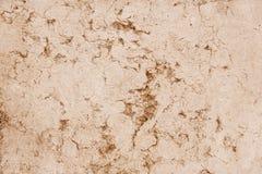 老红色石花岗岩墙壁背景纹理 免版税库存图片