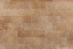 老红色花岗岩石墙背景纹理 免版税库存照片