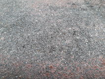老红色水泥地板 库存图片