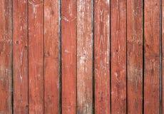 老红褐色的委员会墙壁 免版税库存照片