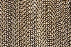 老纤维素垫或汽化冷却垫是蒸发器系统材料  图库摄影