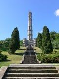 老纪念碑 免版税库存图片