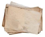 老纸叠 免版税库存照片