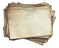 老纸叠 免版税库存图片