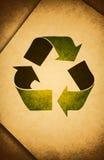 老纸张回收 免版税库存图片